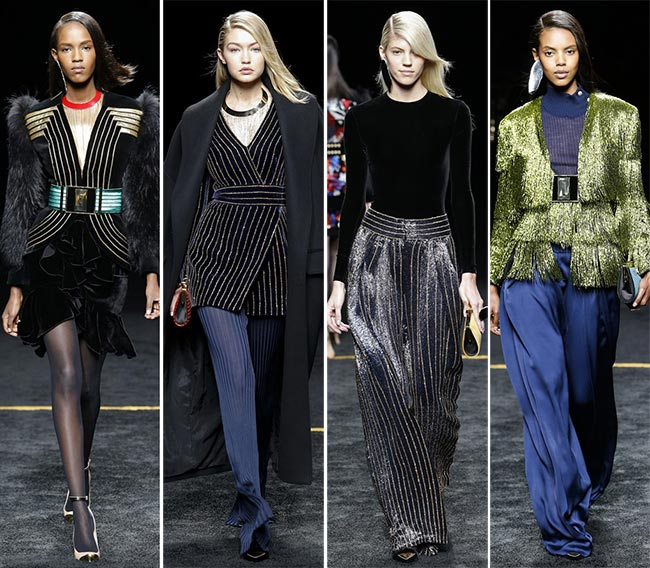 Balmain Fall/Winter 2015-2016 Collection