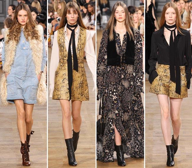 Chloe Fall/Winter 2015-2016 Collection - Paris Fashion Week