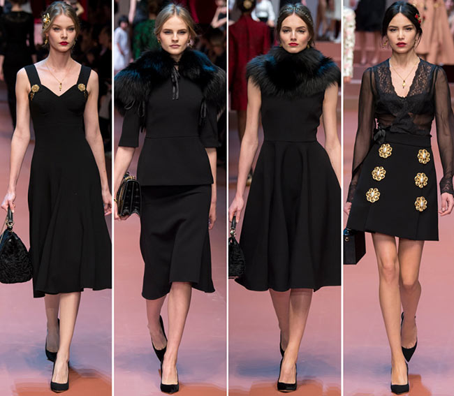 ee738663d5 Dolce   Gabbana Fall Winter 2015-2016 Collection
