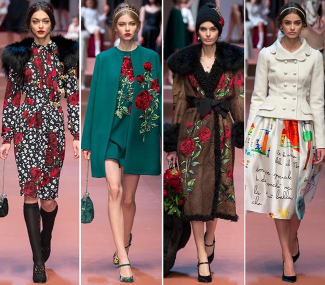 Dolce & Gabbana Fall/Winter 2015-2016 Collection