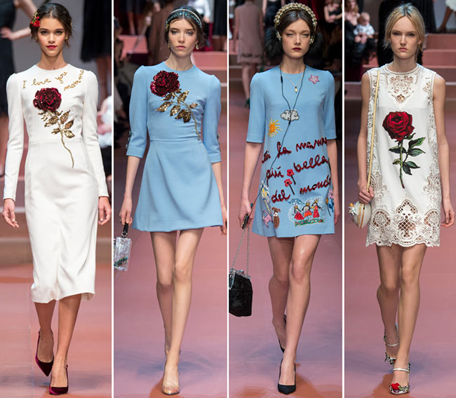 73a98854cd02 Dolce   Gabbana Fall Winter 2015-2016 Collection