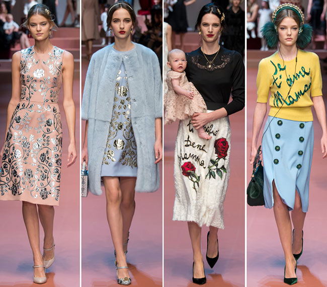 a5c7e5afc605 Dolce & Gabbana Fall/Winter 2015-2016 Collection
