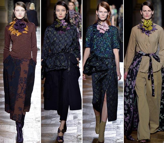 Dries Van Noten Fall/Winter 2015-2016 Collection - Paris Fashion Week