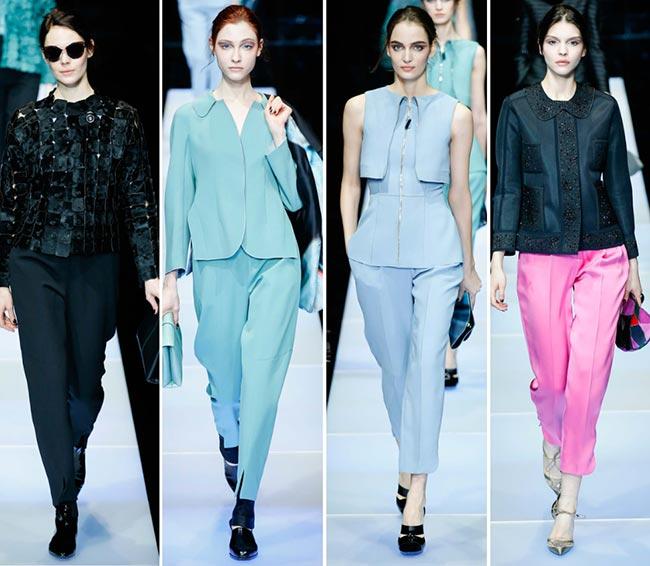 fc49322b158 Giorgio Armani Fall Winter 2015-2016 Collection – Milan Fashion Week ...
