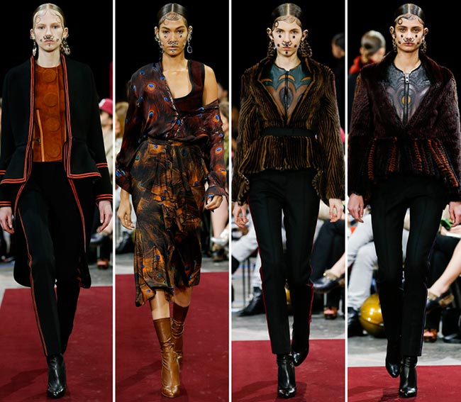 Givenchy Fall/Winter 2015-2016 Collection - Paris Fashion Week