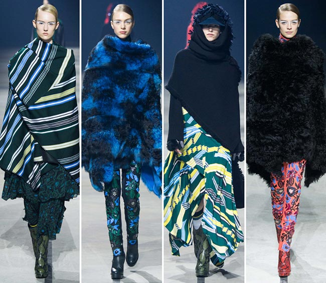 Kenzo Fall/Winter 2015-2016 Collection - Paris Fashion Week