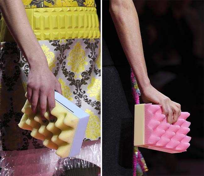 London Fashion Week Fall 2015 Accessories: Mary Katrantzou
