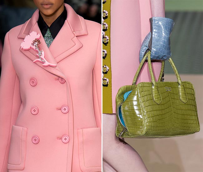 Milan Fashion Week Fall 2015 Accessories: Prada