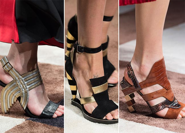 Milan Fashion Week Fall 2015 Accessories: Salvatore Ferragamo