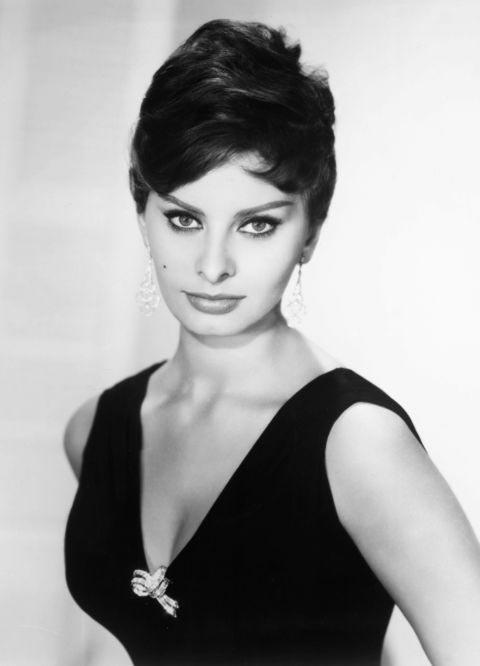 10 Old Hollywood Beauty Hacks: Sophia Loren
