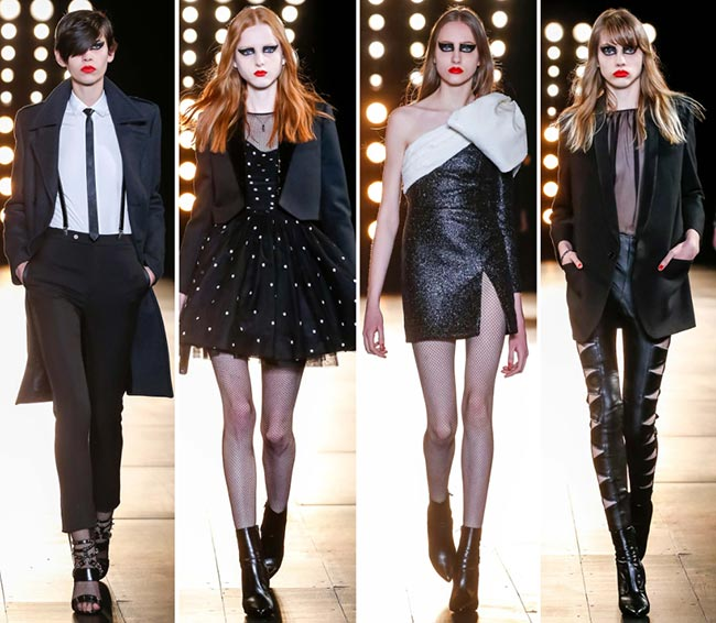 Saint Laurent Fall/Winter 2015-2016 Collection - Paris Fashion Week