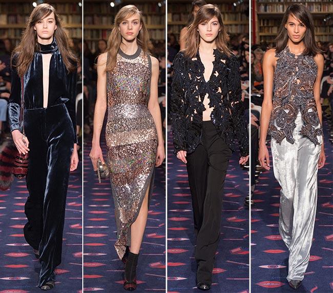 Sonia Rykiel Fall/Winter 2015-2016 Collection - Paris Fashion Week
