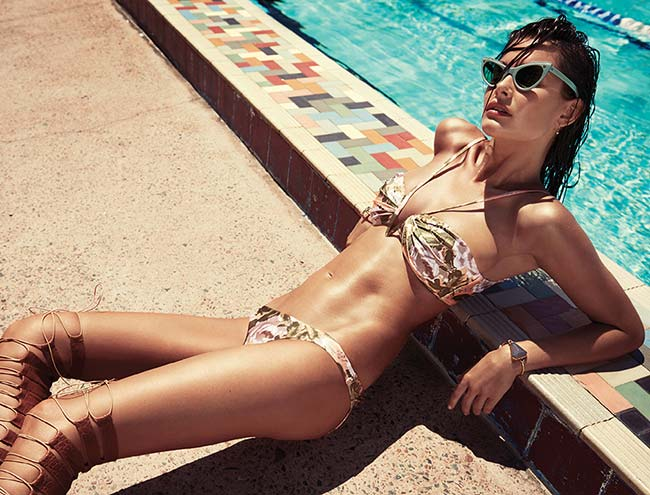 Zimmermann Swimwear Summer 2015 Campaign