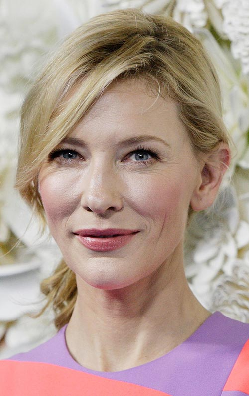 Casual Spring Hairstyles: Cate Blanchett Loose Ponytail