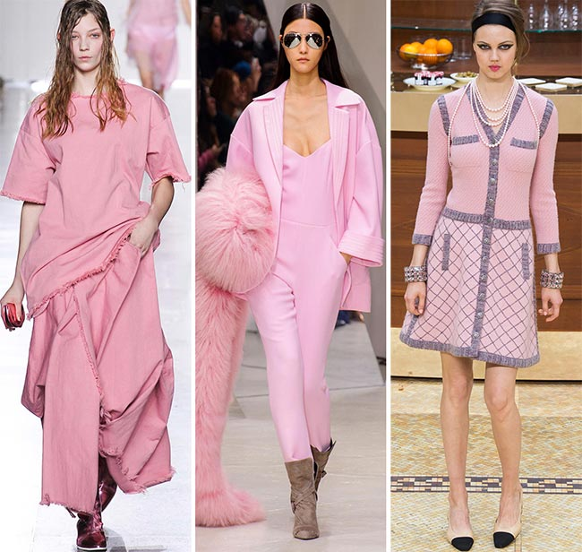Fall/ Winter 2015-2016 Color Trends: Cashmere Rose Pink