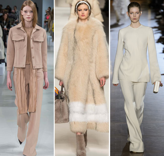 Fall/ Winter 2015-2016 Color Trends: Creams and Beiges