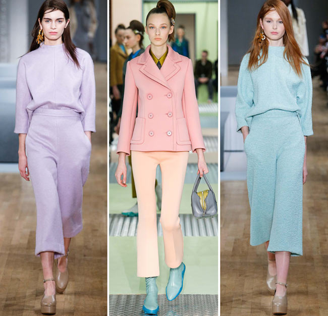 Pastel Colors Fashion Trend