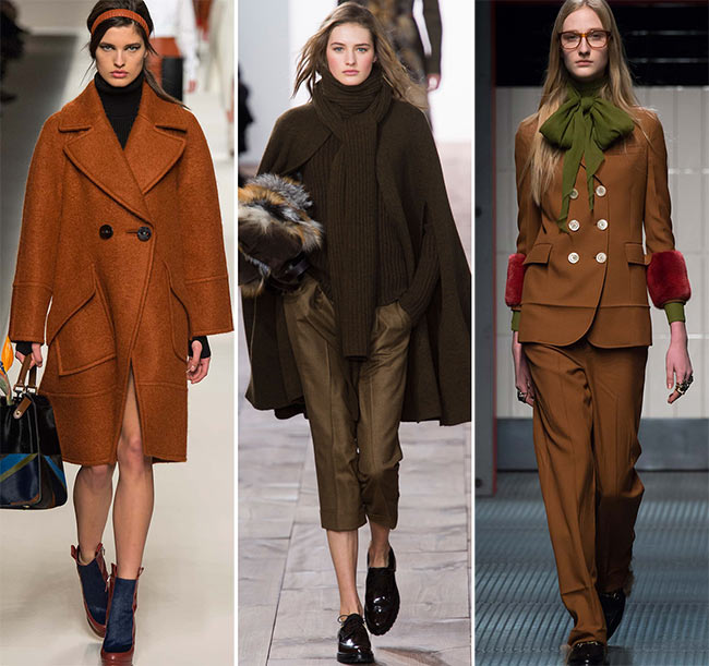 Fall/ Winter 2015-2016 Color Trends: Shades of Brown