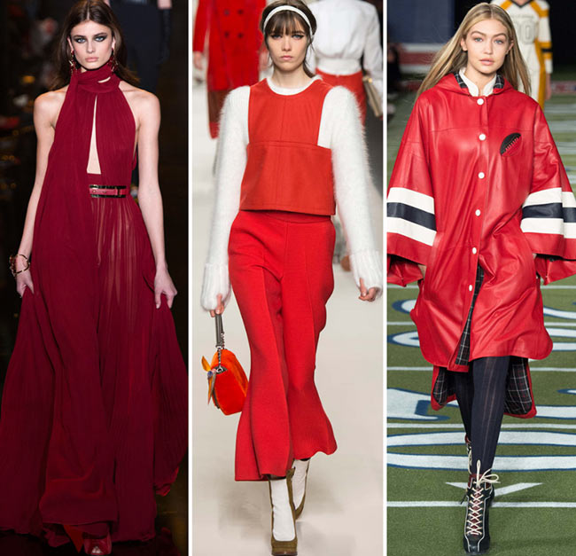 Fall/ Winter 2015-2016 Color Trends: Shades of Red