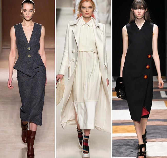 Fall/ Winter 2015-2016 Fashion Trends: Big Buttons