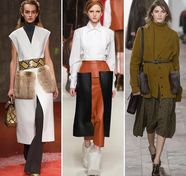 Fall/ Winter 2015-2016 Fashion Trends: Catchy Pockets