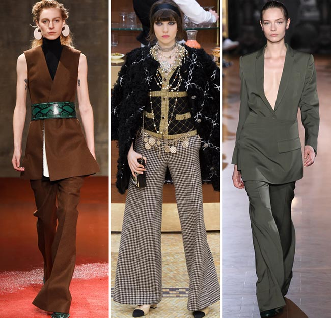 Fall/ Winter 2015-2016 Fashion Trends: Flare Pants