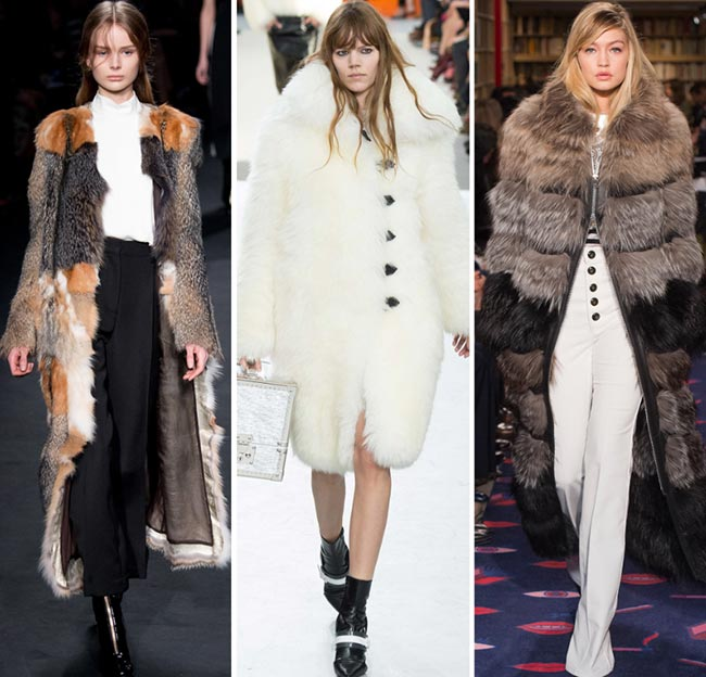 Fall/ Winter 2015-2016 Fashion Trends: Fur