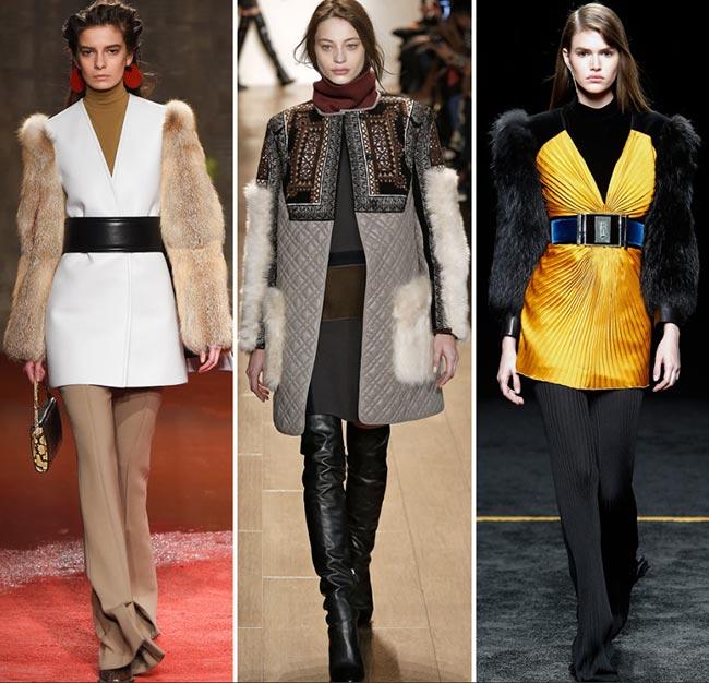 Fall/ Winter 2015-2016 Fashion Trends: Fur Sleeves