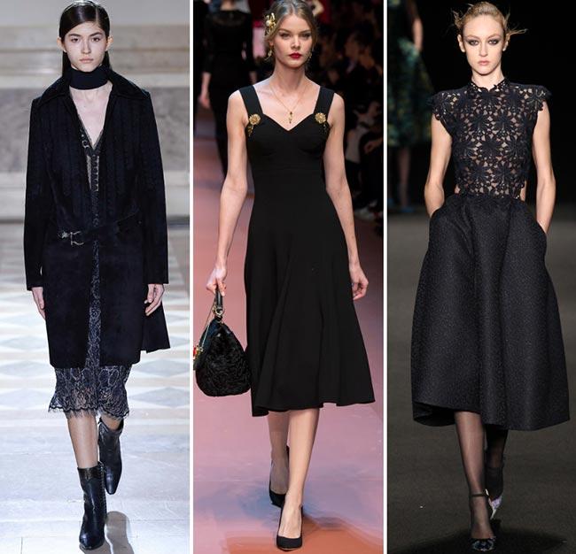Fall/ Winter 2015-2016 Fashion Trends: Midi Hems