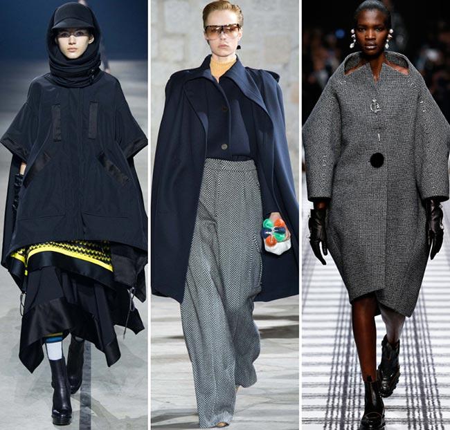 Fall/ Winter 2015-2016 Fashion Trends: Oversized Fashion