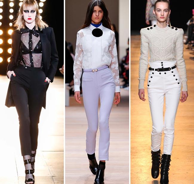 Fall/ Winter 2015-2016 Fashion Trends: Skinny High Waist Pants