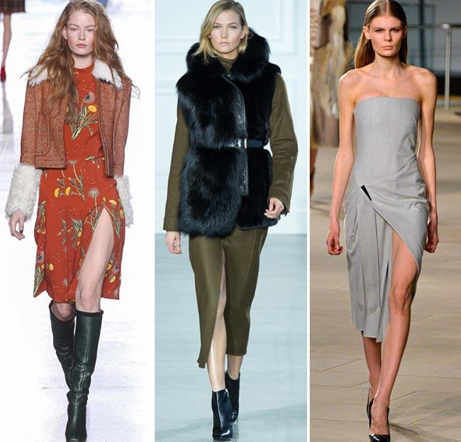 Fall/ Winter 2015-2016 Fashion Trends: Slits