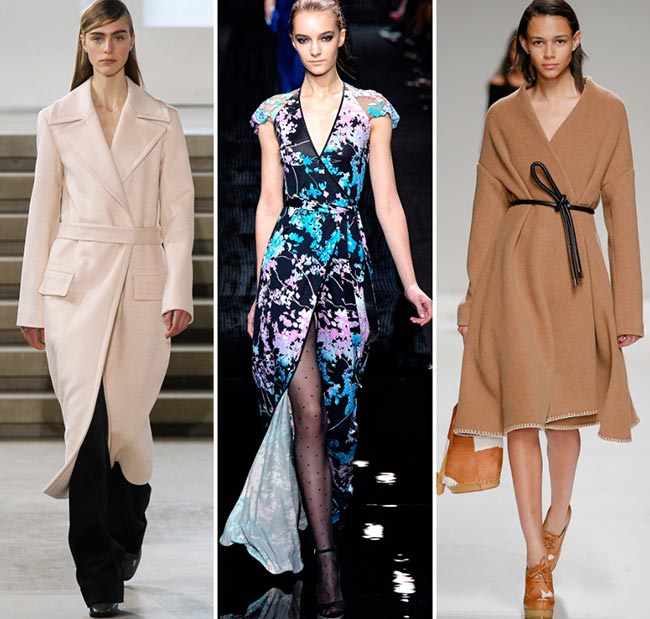 Fall/ Winter 2015-2016 Fashion Trends: Wrapped Silhouettes