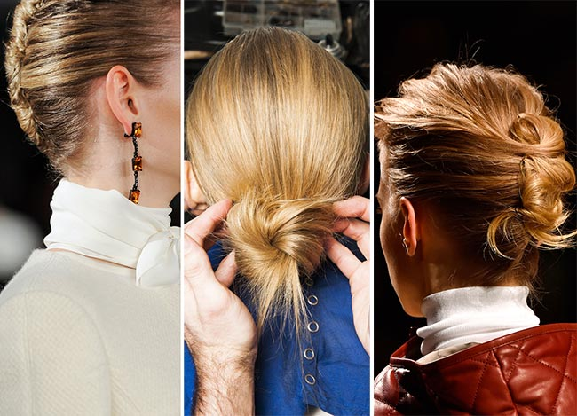 Fall/ Winter 2015-2016 Hairstyle Trends: French Twist