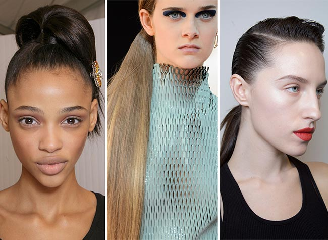 Fall/ Winter 2015-2016 Hairstyle Trends: Ponytails