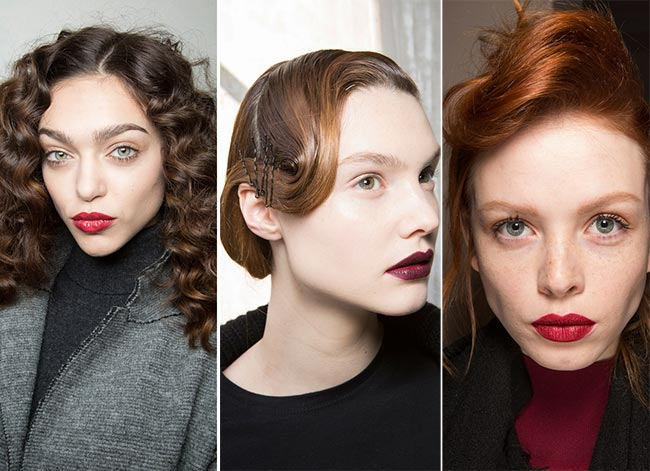Fall/ Winter 2015-2016 Hairstyle Trends: Retro Hairstyles
