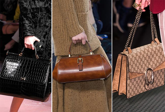9833e0d05bf5 Fall/ Winter 2015-2016 Handbag Trends: Classic and Retro Handbags