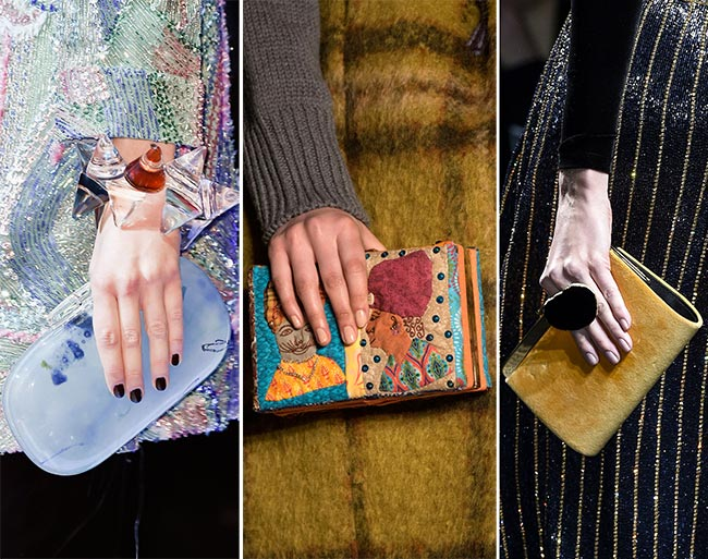 Fall/ Winter 2015-2016 Handbag Trends: Clutches