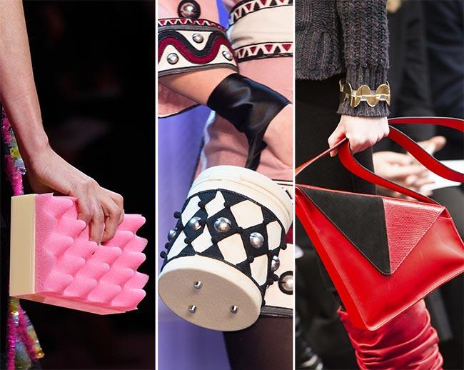Fall/ Winter 2015-2016 Handbag Trends: Geometric Handbags