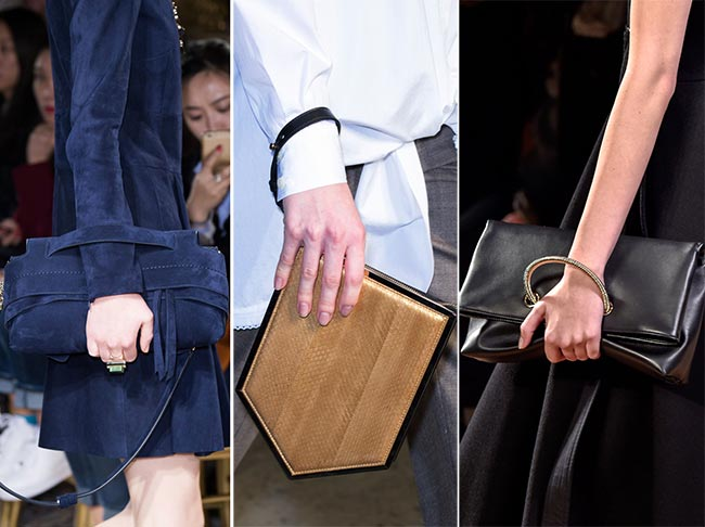 Fall/ Winter 2015-2016 Handbag Trends: Bags With Slip Through Straps