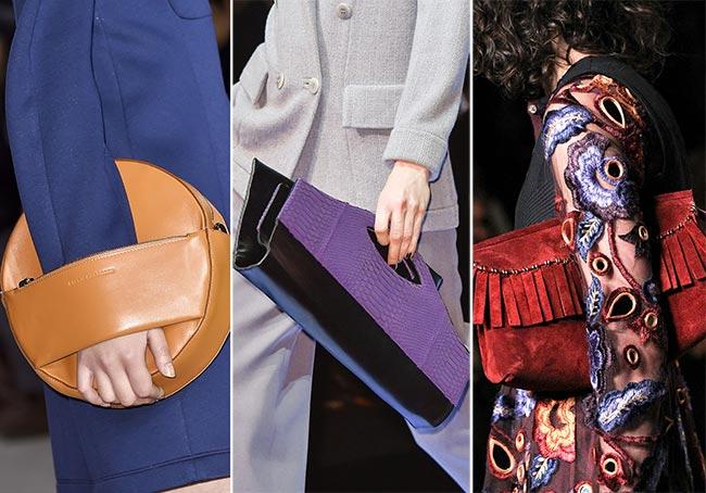 Fall/ Winter 2015-2016 Handbag Trends: Envelope and Folded Bags