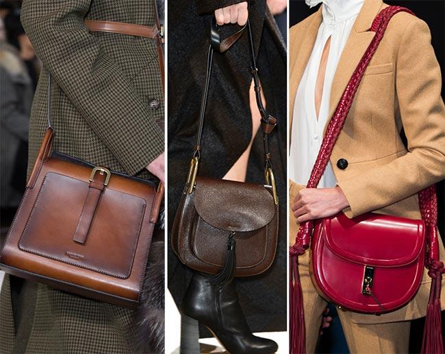 Fall/ Winter 2015-2016 Handbag Trends: Saddle Bags