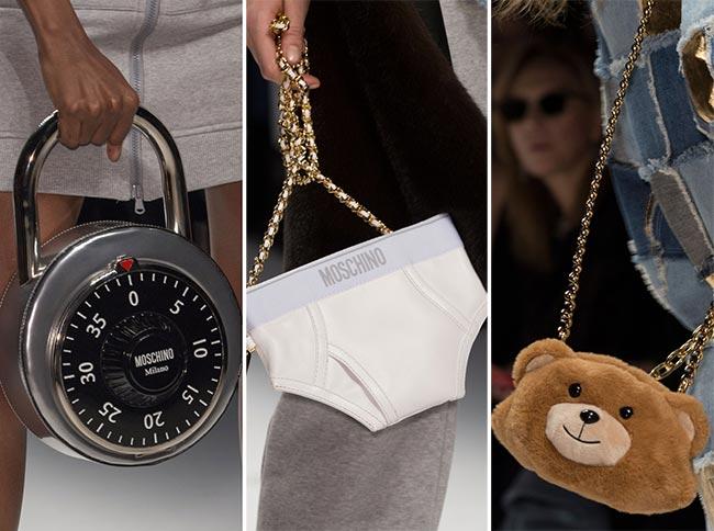 Fall/ Winter 2015-2016 Handbag Trends: Unusual, Quirky Bags