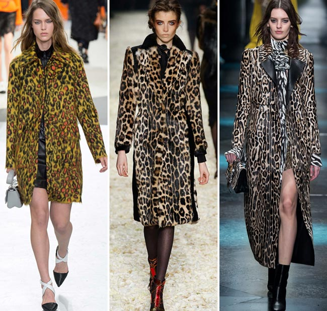 Fall/ Winter 2015-2016 Print Trends: Leopard Patterns
