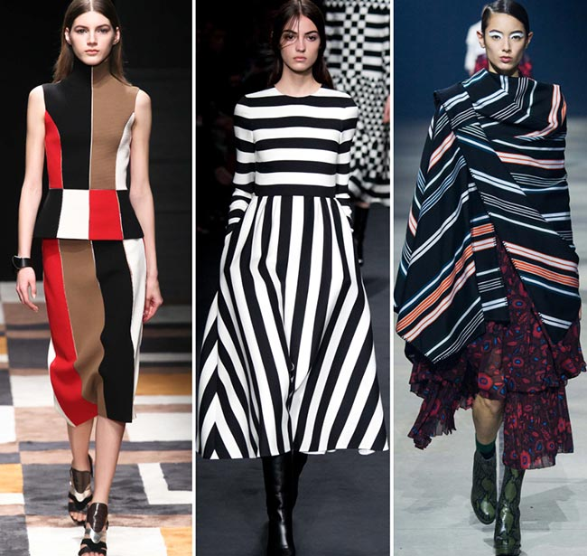 Fall/ Winter 2015-2016 Print Trends: Stripes