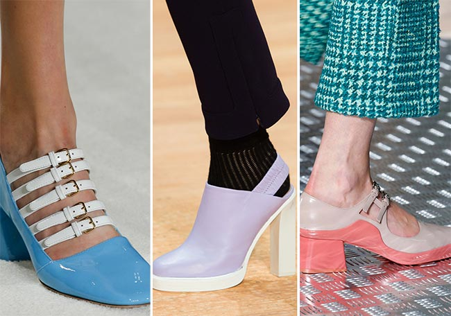 Fall/ Winter 2015-2016 Shoe Trends: Color-Blocked Shoes