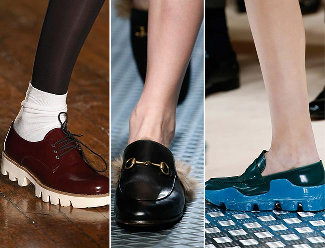 Fall/ Winter 2015-2016 Shoe Trends: Loafers