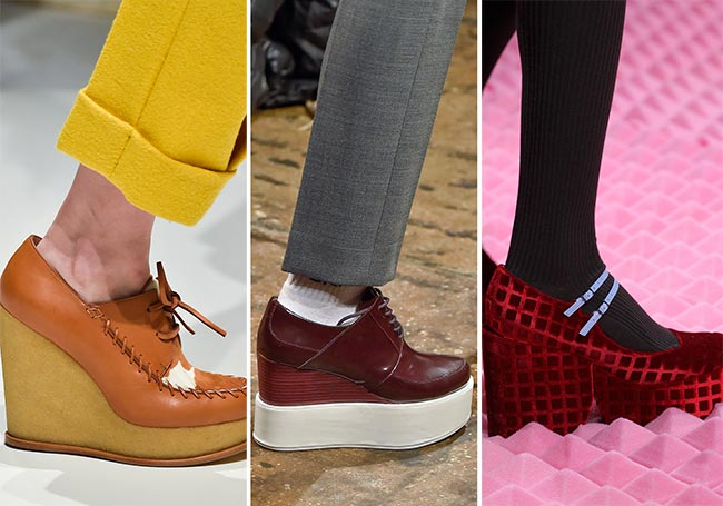Fall/ Winter 2015-2016 Shoe Trends: Platform Shoes