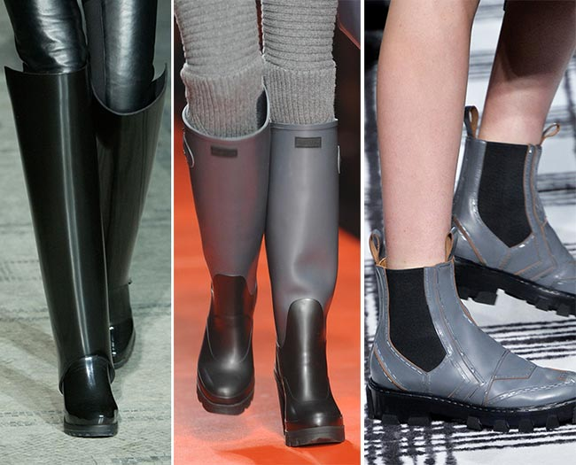 Fall/ Winter 2015-2016 Shoe Trends: Rubber Boots