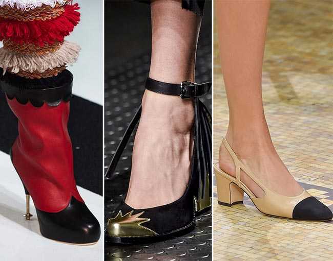 Fall/ Winter 2015-2016 Shoe Trends: Shoes With Toe Caps